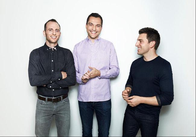 fundadores airbnb