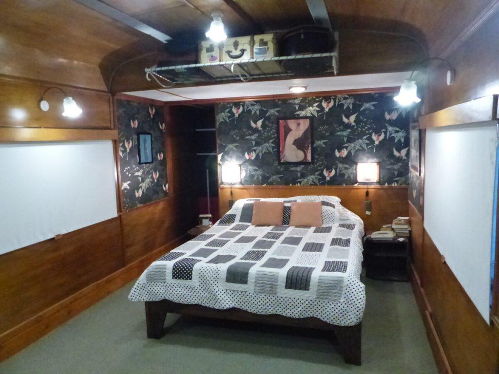airbnb vagon de tren